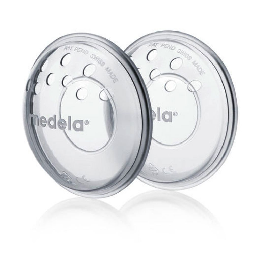 Medela - Protège-mamelons silicone - 2 Pièces