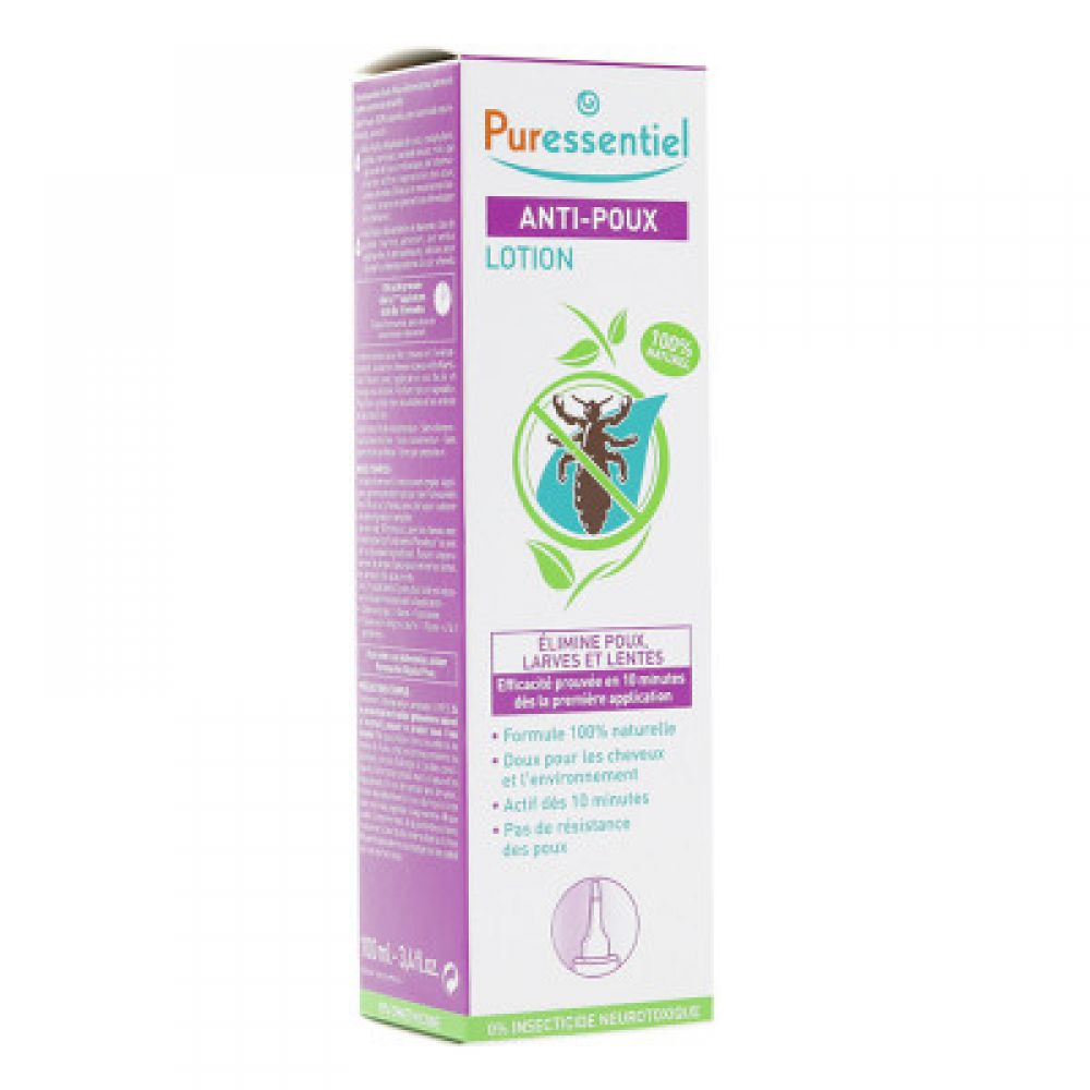 Puressentiel - Lotion anti-poux -100ml