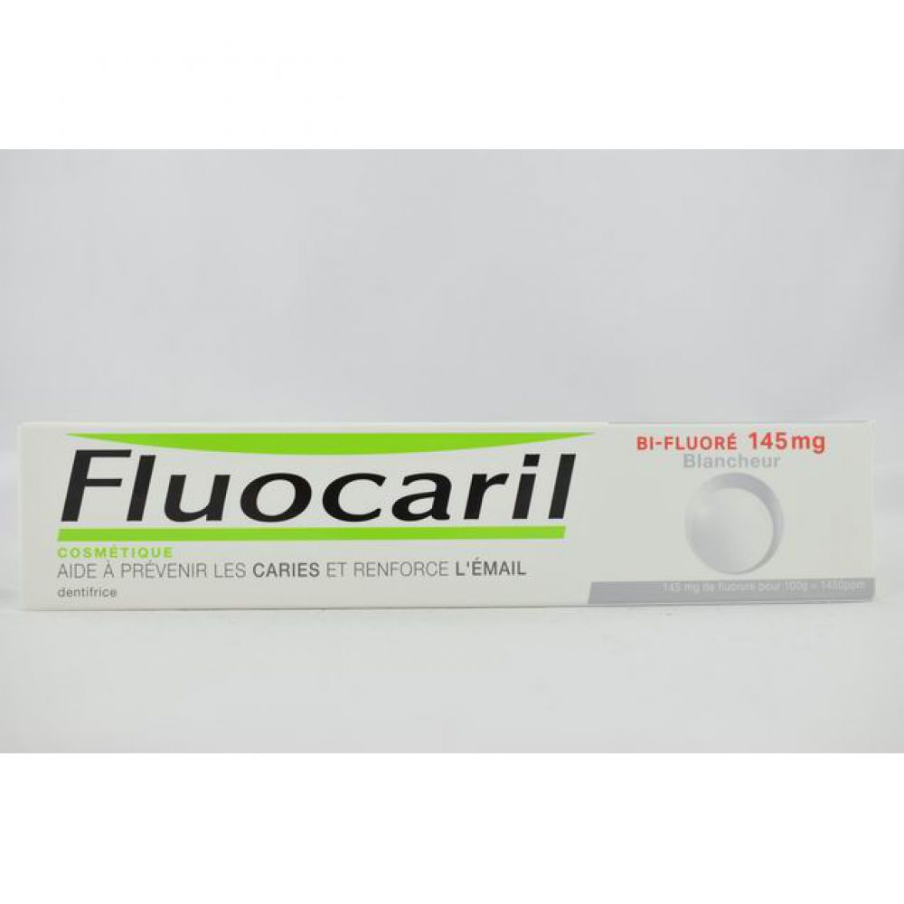 Fluocaril Bi-Fluoré 145mg Blancheur - Dentifrice - 75ml