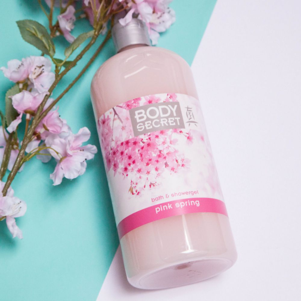 Leader Market - Body secret Pink Spring bain et douche - 1L