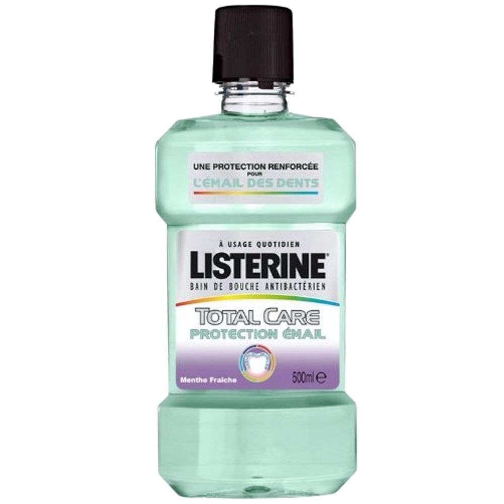 Listerine - Total care protection émail bain de bouche quotidien - 250 ml