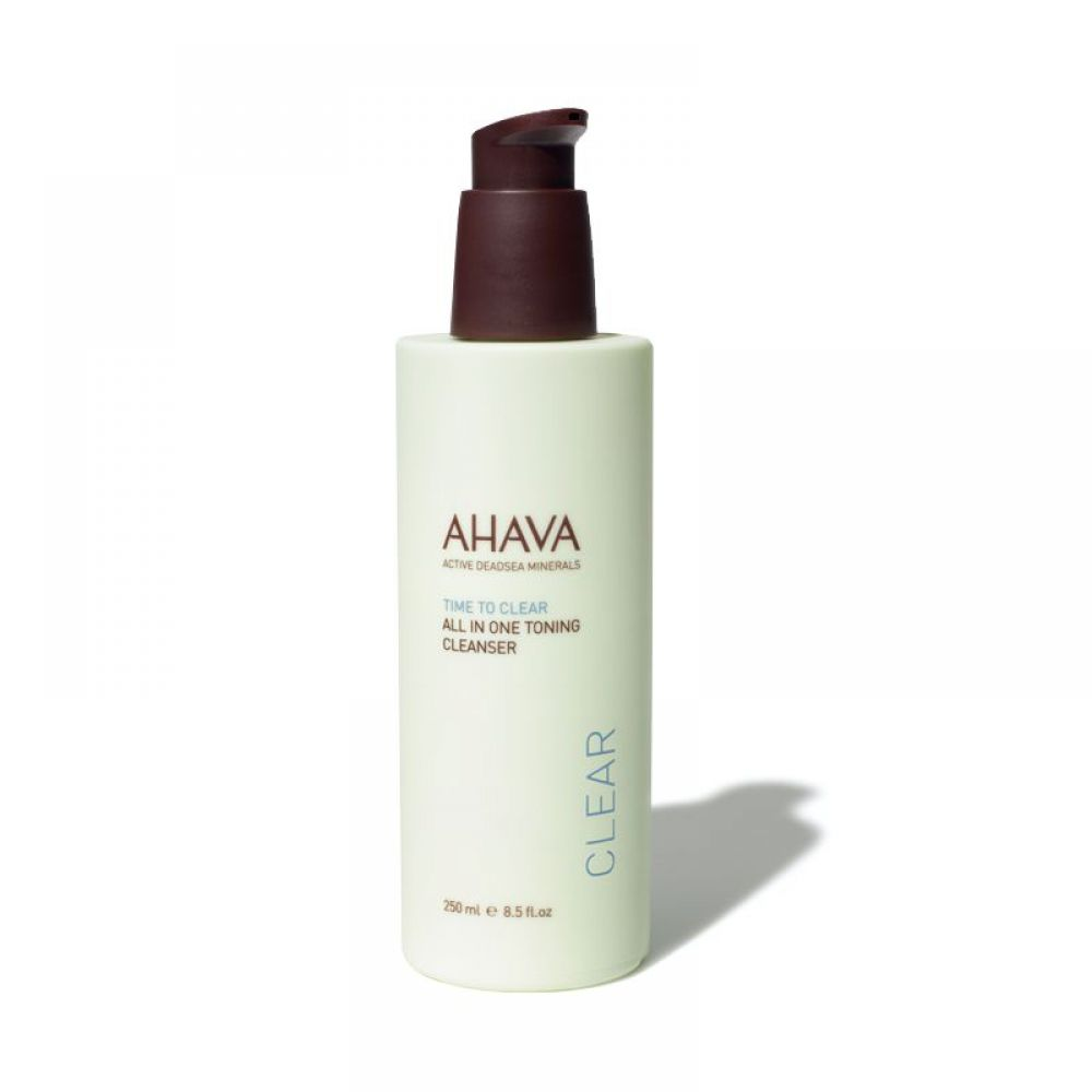 Ahava - Time to clear démaquillant tonique 3 en 1 - 250 ml