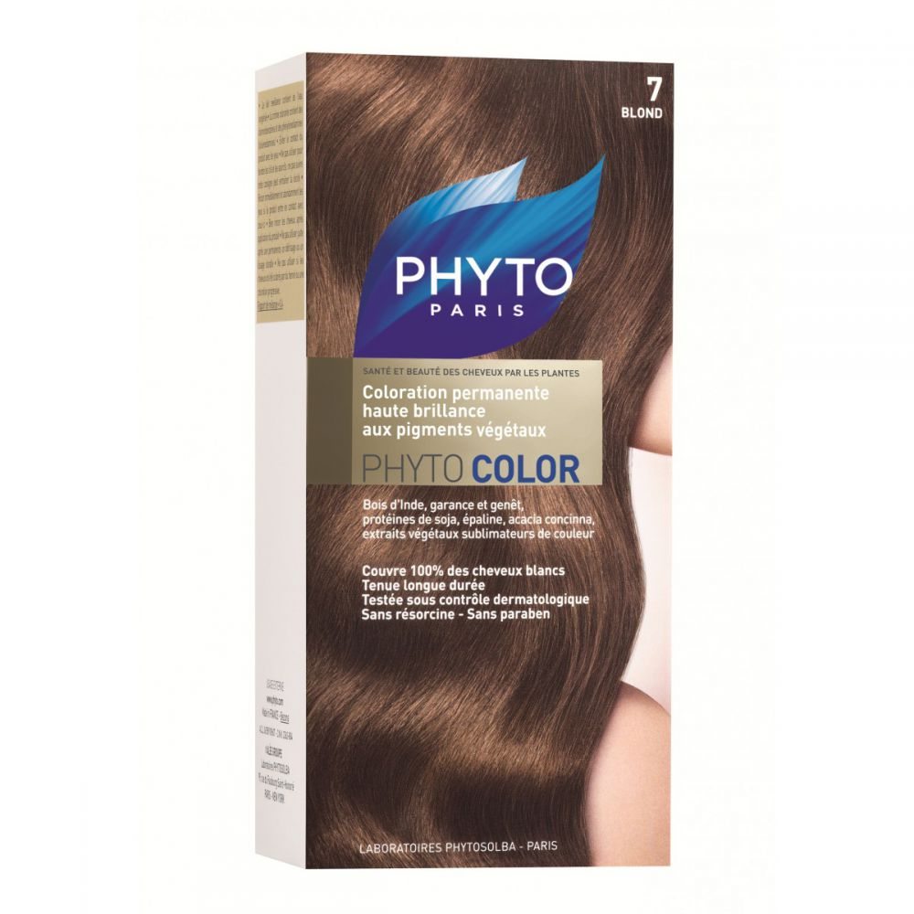 Phyto - Phytocolor 7 blond coloration soin permanente