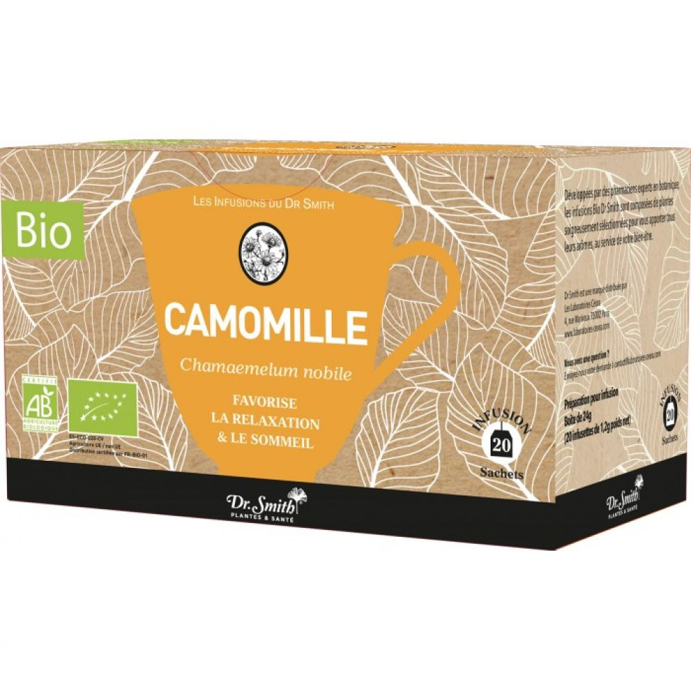 Dr Smith - Infusion Camomille - 20 sachets