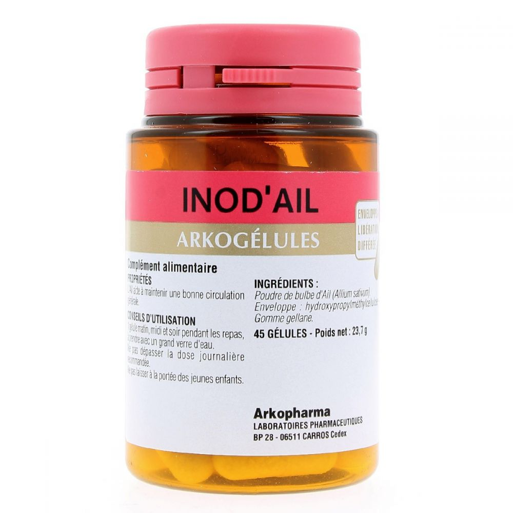Arkopharma - Inod'Ail Confort articulaire - 45 gélules
