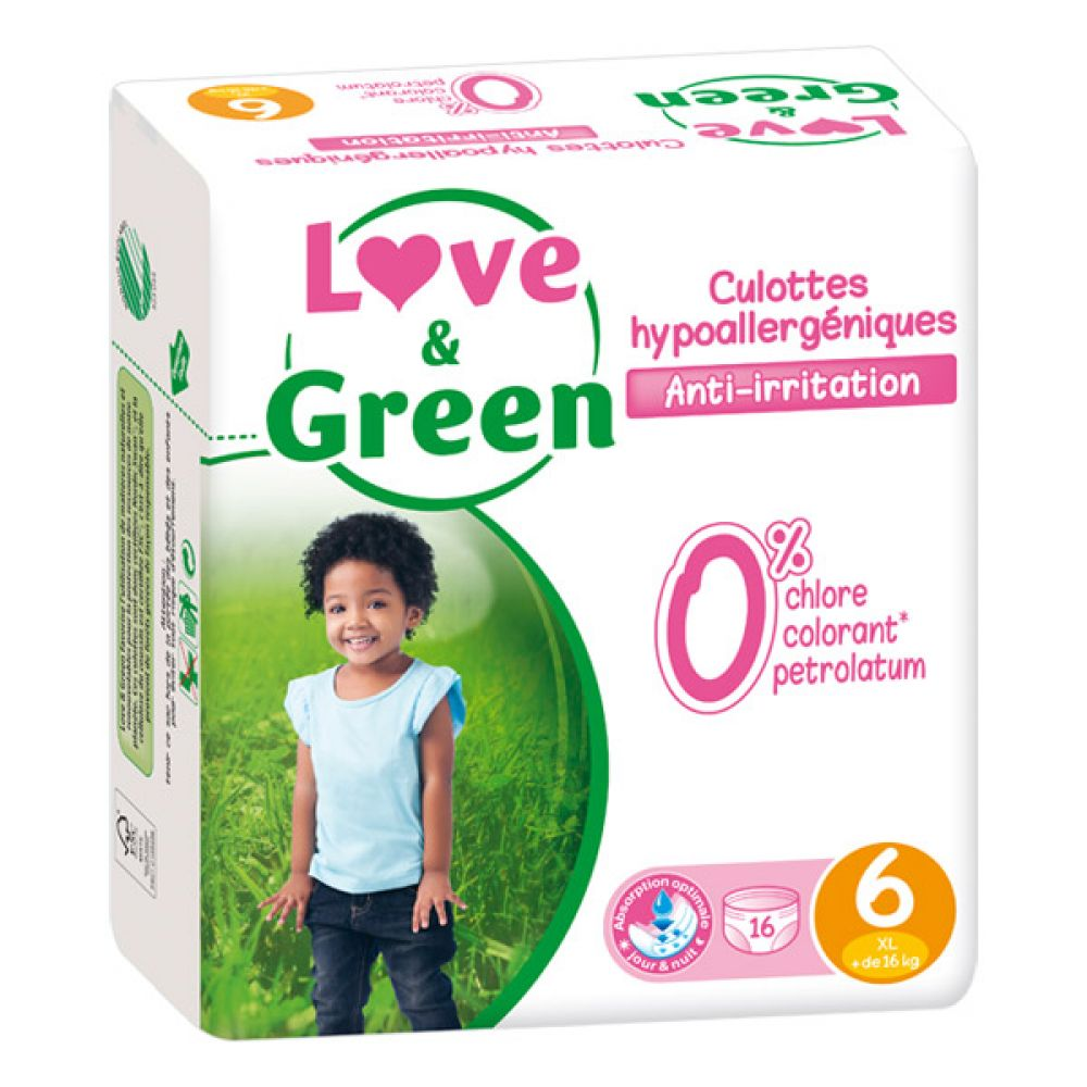 Love & Green - Culottes Taille 6 - 16 culottes