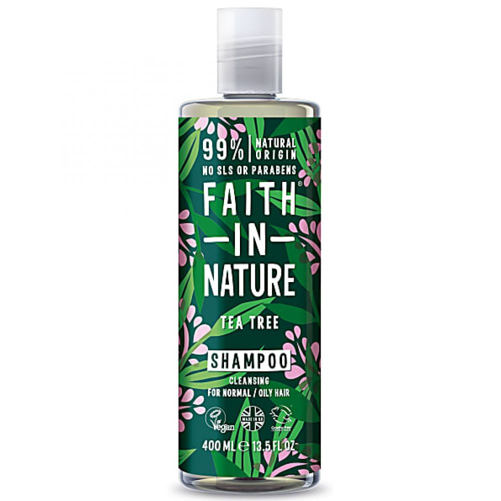 Faith in Nature - Shampooing arbre à thé - 400 ml