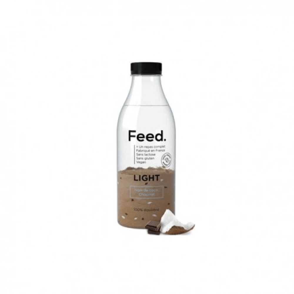 Feed - Bouteille repas complet light coco chocolat - 90 g