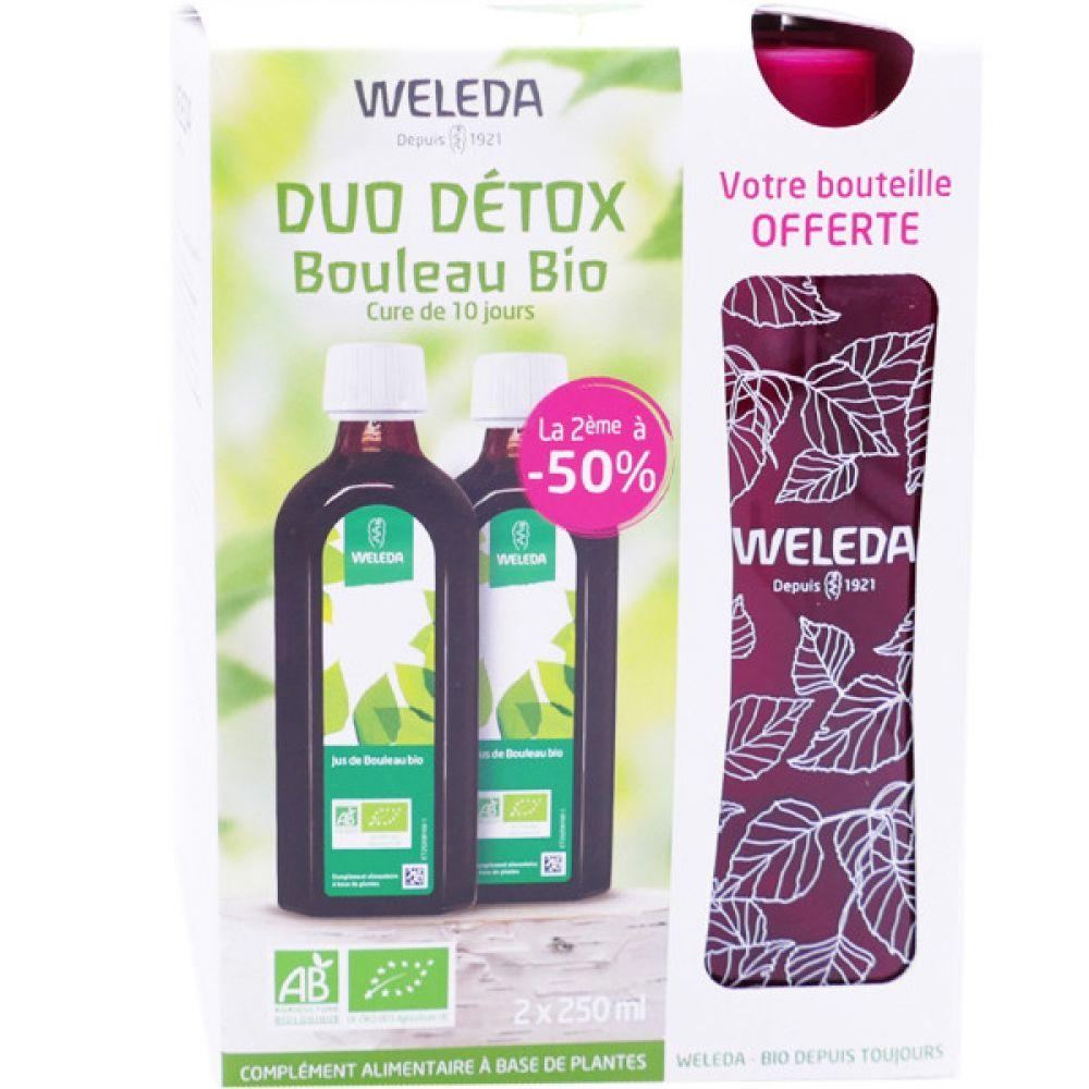 Weleda - Duo détox jus de bouleau bio - 2 x 250 ml ...