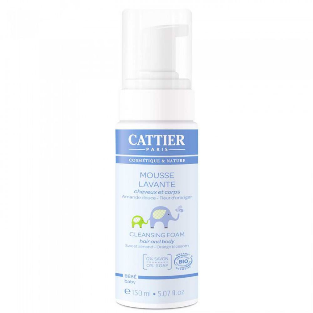 Cattier - Mousse lavante - 150ml