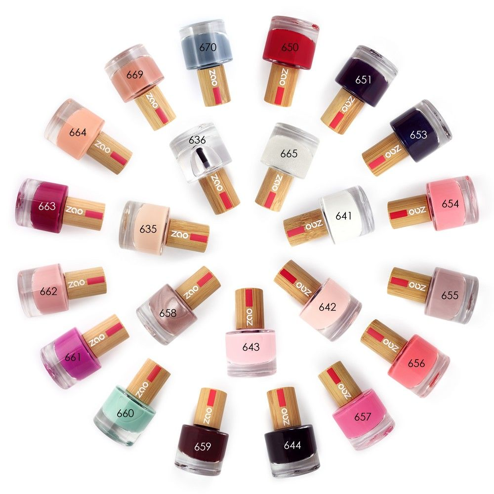 Zao - Vernis à ongles french manucure rose N°643 - 8 ml