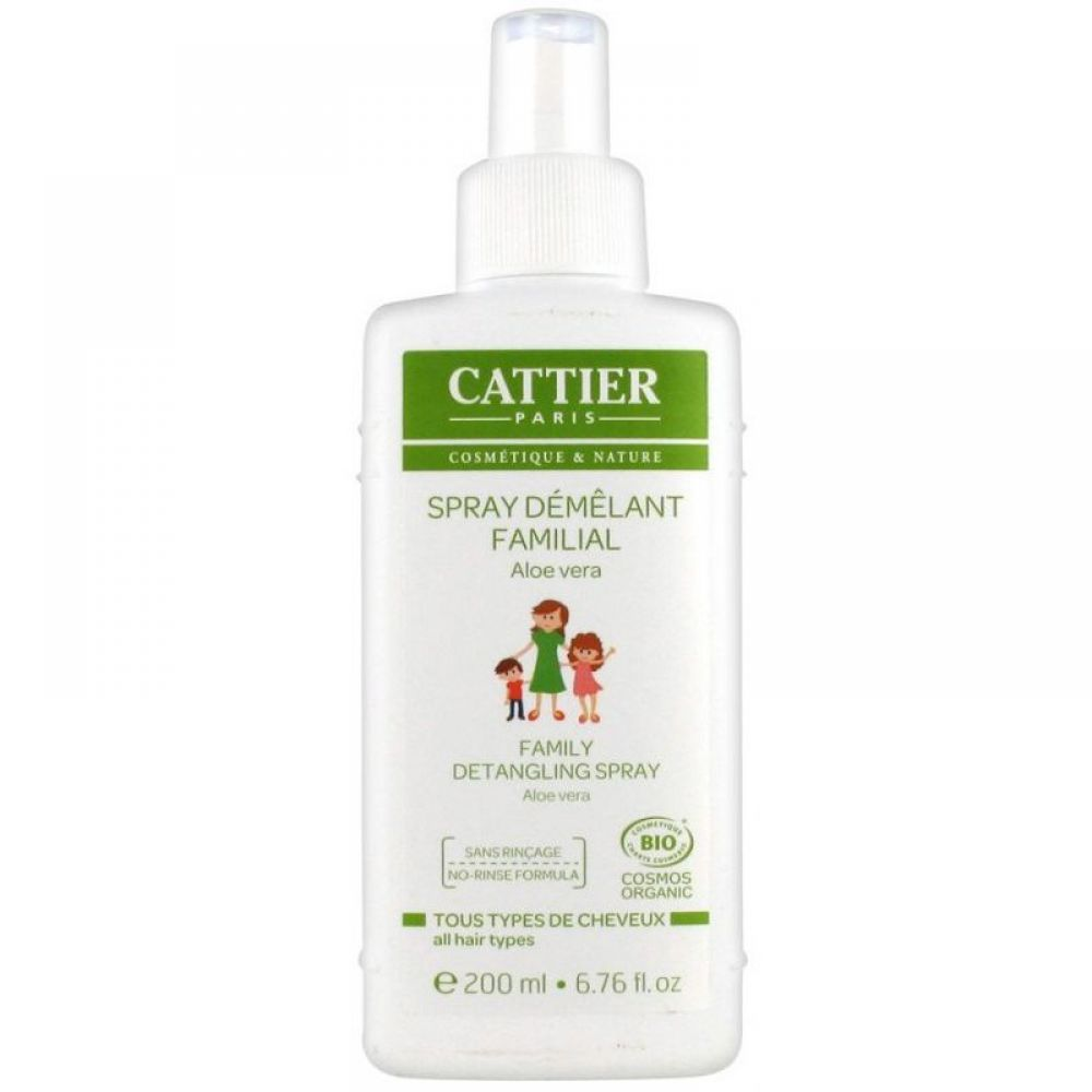 Cattier - Spray démêlant familial - 200 ml