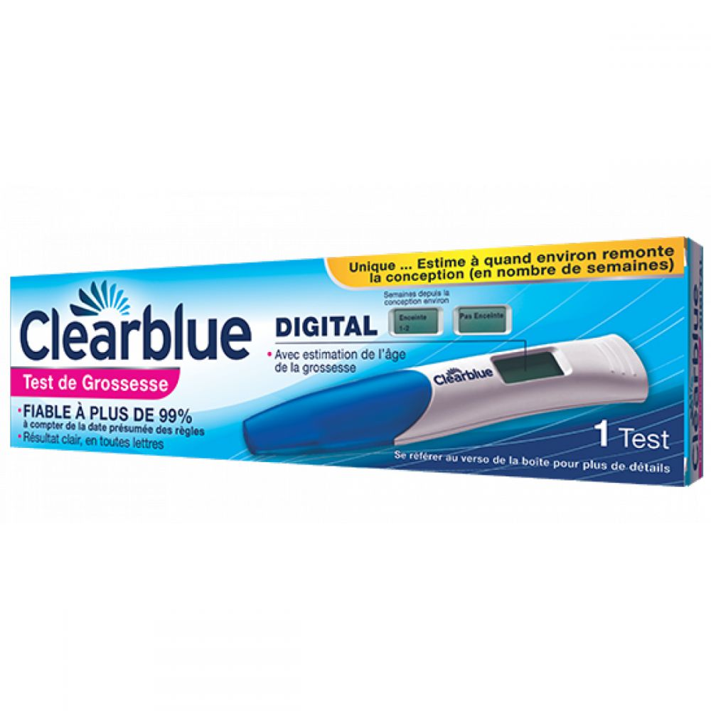 Clearblue - Test de grossesse digital