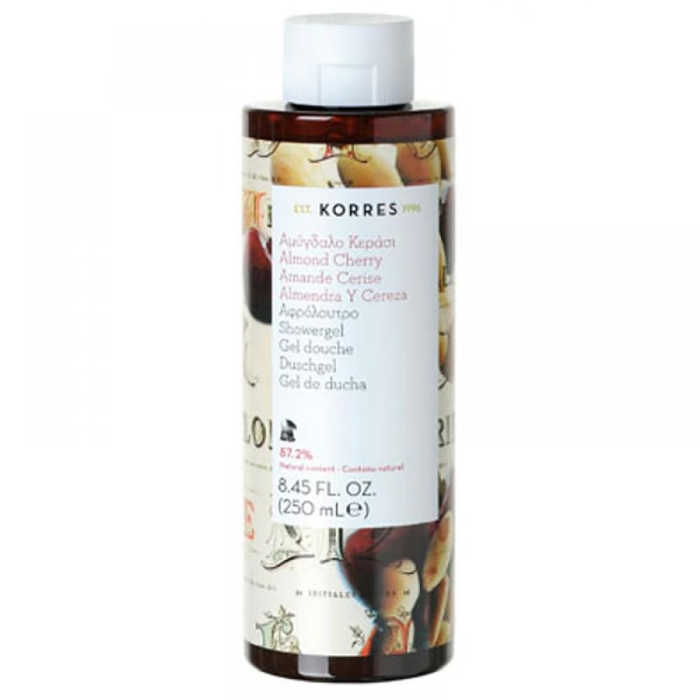 Korres - Gel douche amande cerise - 250 ml