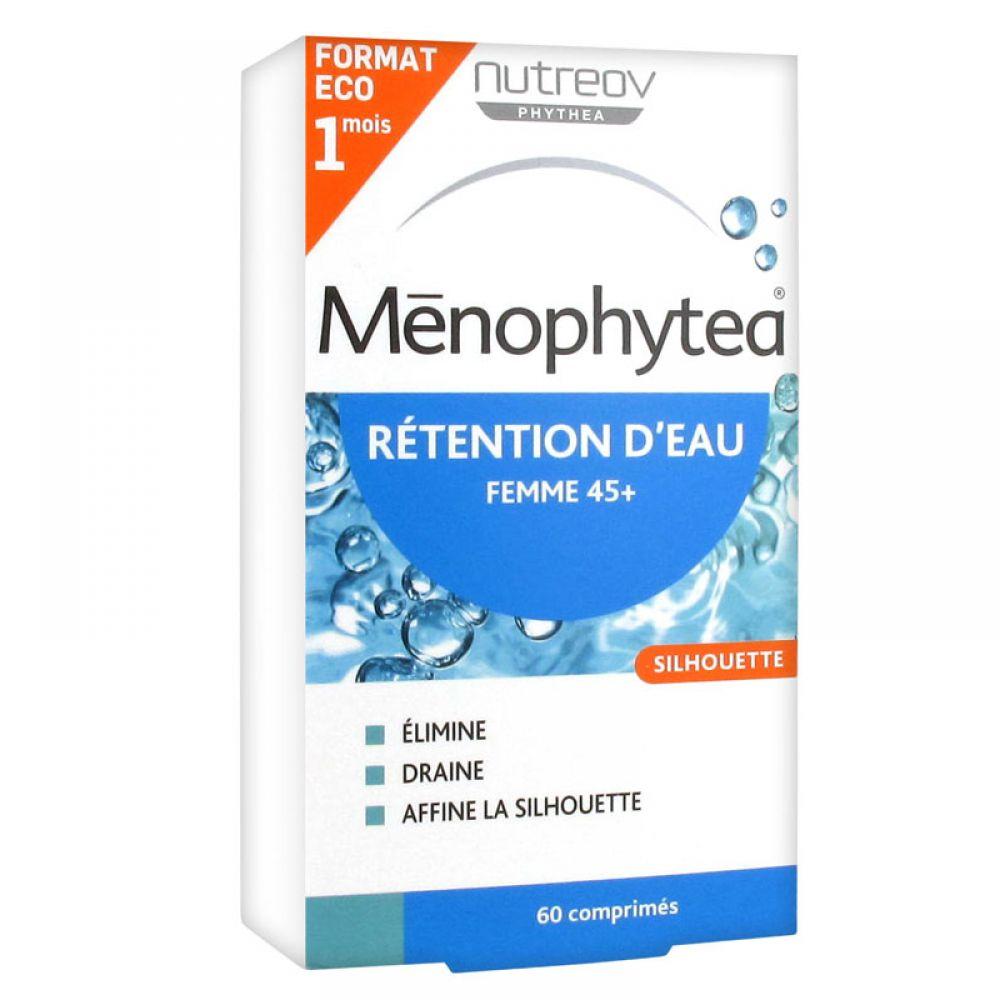 Nutreov Ménophytea rétention d'eau femme 45 ans et plus