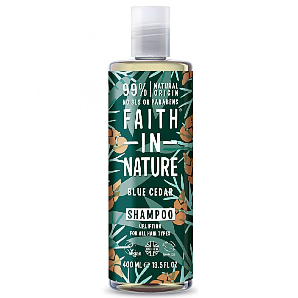 Faith in Nature - Shampooing cèdre bleu - 400 ml