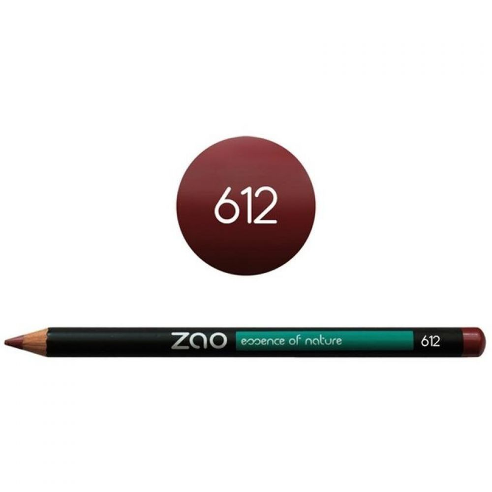 Zao - Crayon multi-fonctions bordeaux - N°612