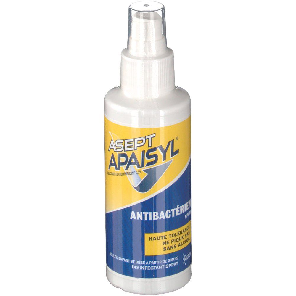 Asept Apaisyl - Spray antibactérien - 100mL