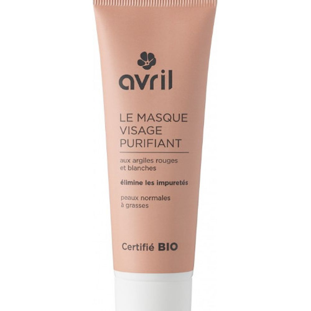 Avril - Masque visage purifiant - 50ml