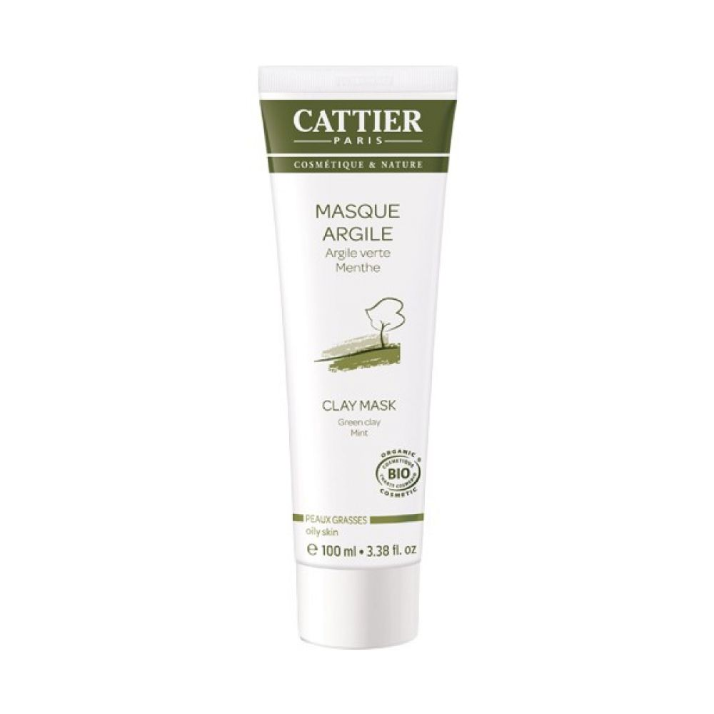Cattier - Masque argile verte - 100 ml