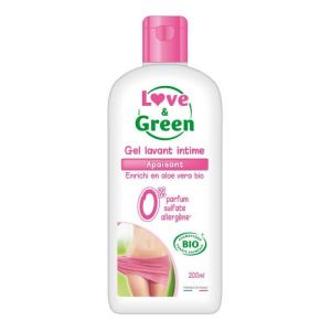 Love & Green - Gel lavant intime apaisant - 200 ml