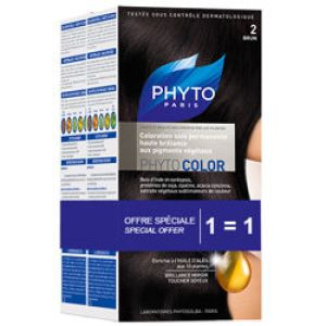 Phyto - Phytocolor 2 Brun coloration soin permanente