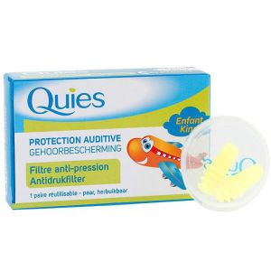 Quies - Protection auditive avion enfant - 1 paire