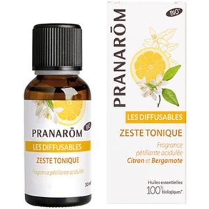 Pranarom - Les diffusables - Zeste tonique - 30ml
