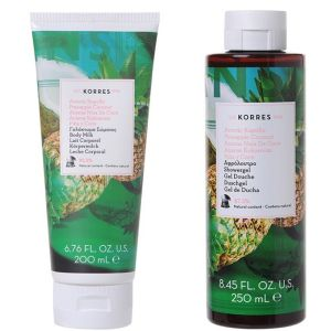 Korres - Coffret Surprise Your Body - Ananas Noix de Coco