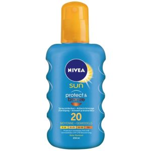 Nivea - Sun protect & bronze 20 - 200 ml