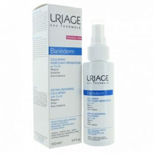 Uriage - Bariéderm cica-spray asséchant réparateur - 100 ml