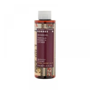 Korres - Gel douche vanille freesia litchi - 250 ml
