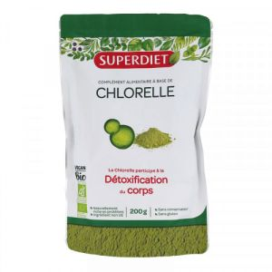 Superdiet - Chlorelle détoxification du corps - 200 g