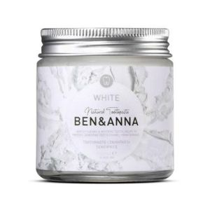 Ben & Anna - Dentifrice en pot blancheur - 100 ml