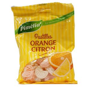 Pimélia - Pastilles Orange Citron - 110g