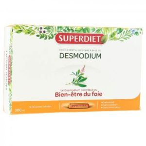Superdiet - Desmodium - 20 ampoules de 15ml