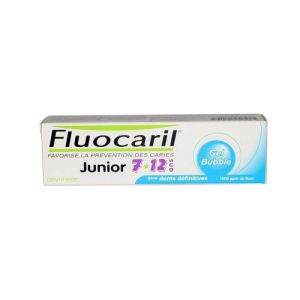 Fluocaril - Dentifrice junior 7 - 12  ans gel bubble - 50ml