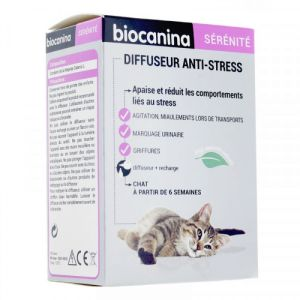 Biocanina - Diffuseur anti-stress - Diffuseur + recharge