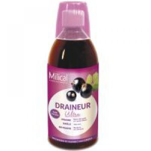 Milical - Draineur ultra goût cassis - 500 ml