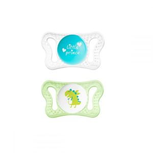 Chicco - Sucette Physio Micrò Silicone 0-2 mois - 2 sucettes