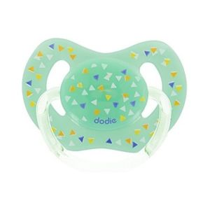 Dodie - Sucette physiologique orthodontiste silicone avion 18 mois+