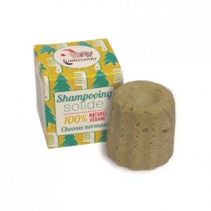 Lamazuna - Shampooing solide cheveux normaux pin sylvestre - 55 g