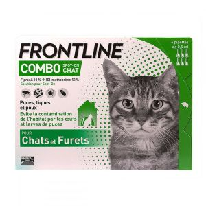Frontline - Combo Spot-on chat - pipettes