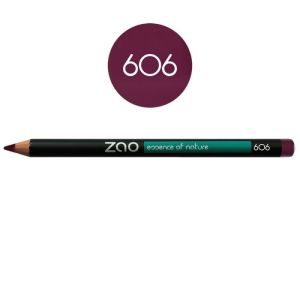 Zao - Crayon multi-fonctions prune - N°606