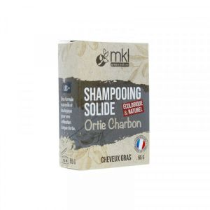 mkl Green Nature - Shampooing solide ortie charbon - 65 g