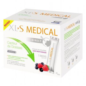 XL-S Medical Capteur de graisse - 90 sticks goût fruits rouges