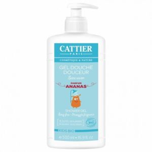 Cattier - Gel douche douceur kids parfum ananas - 500ml