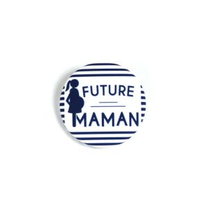 Future Maman - Badge rayures