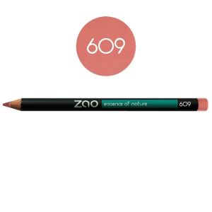 Zao - Crayon multi-fonctions vieux rose - N°609