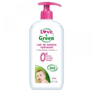 Love & Green - Lait de toilette hydratant - 500ml